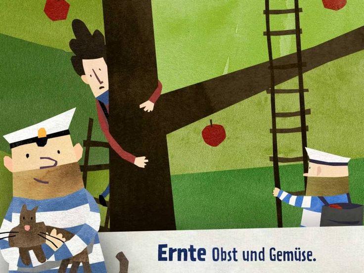 Fiete - Ein Tag auf dem Bauernhof: Die neuste Kinder App mit dem kleinen Matrosen Fiete