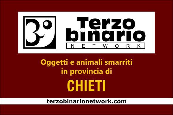 Oggetti e animali smarriti in provincia di Chieti