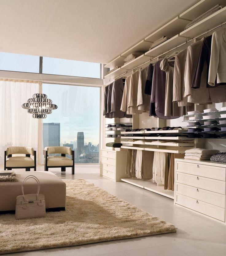 Classic laccato bianco (con immagini) | Cabina armadio ...