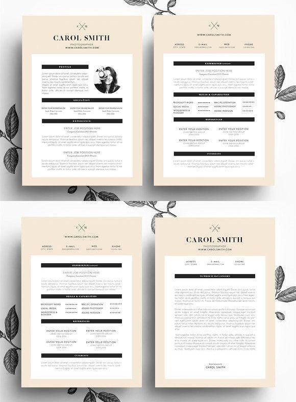 44 best CV images on Pinterest Cv design, Creative cv template - manager medico marketing resume