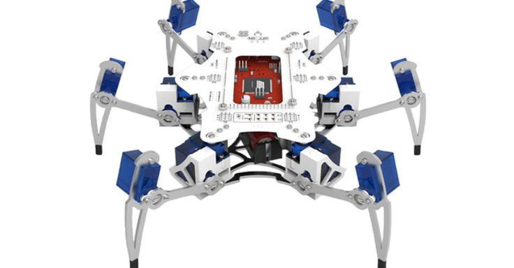 Build-it-yourself spider robot aims to help kids learn robotics