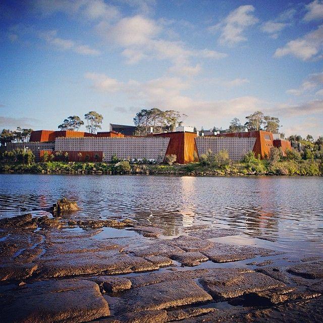 The magnificent MONA museum on a fine Tasmanian spring morning. #hobart #mona #tasmania #spring #discovertasmania Image Credit: Pete Harmsen