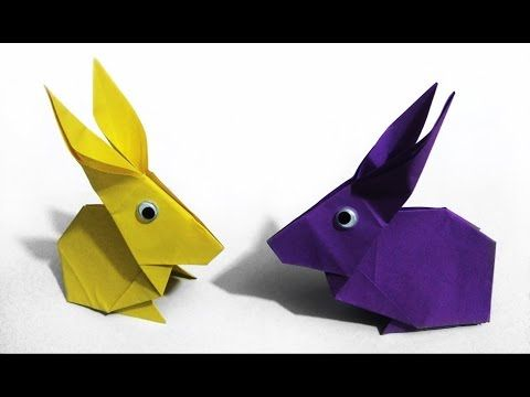 Easter ideas: Origami Rabbit