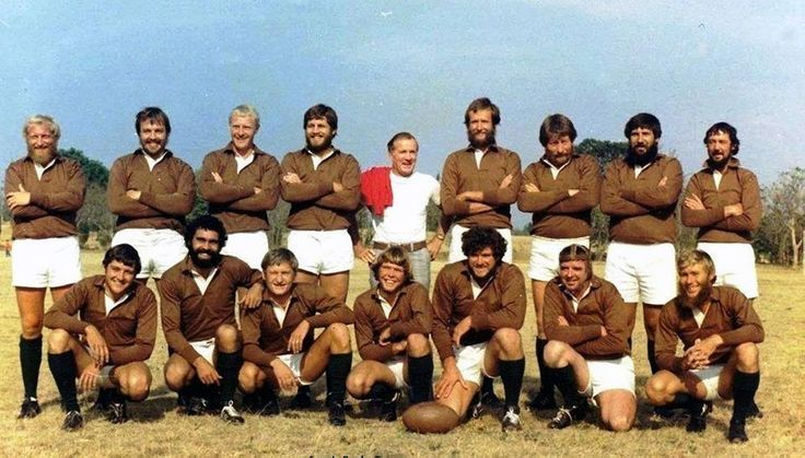 Not a team to mess with! The Selous Scouts rugby team ...