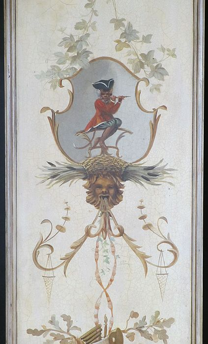 Chinoiserie Style Painted Panels