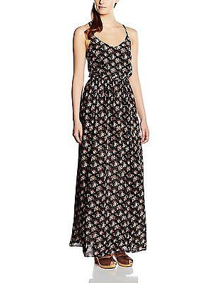 34, Black, Springfield Women's 2.int.vestido Largo Flore dressed NEW