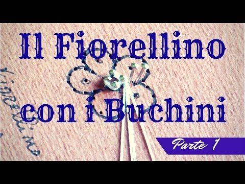 Encaje de bolillos - La flor de Cantù Parte 2 - YouTube