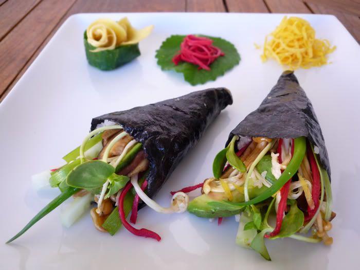 13 best korean diet images on pinterest korean diet korean temaki zushi made with jicama rice golubka raw wrapsvegan food recipesraw food diethealthy forumfinder Image collections