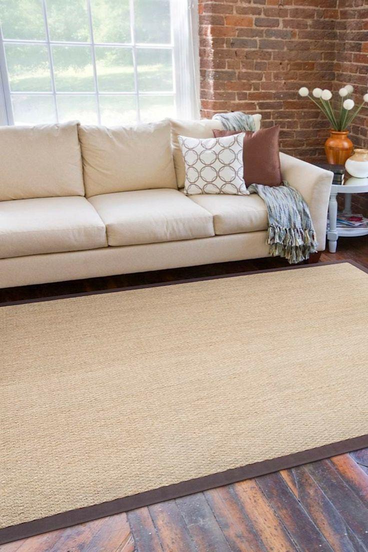 Le tapis en fibre naturelle | CHEZ SOI ©TVA Publications #deco #accessoire #tapis #fibre #texture