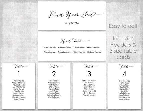 The 25+ best Seating chart template ideas on Pinterest Seating - free wedding seating chart templates