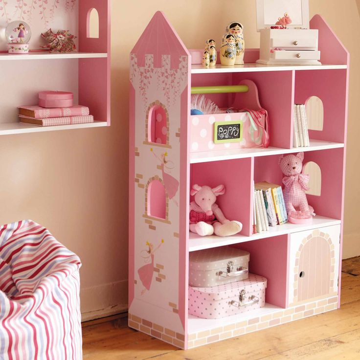 17 best images about ava bedroom ideas on pinterest for White bookcase for kids room