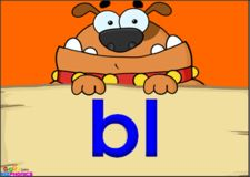bl consonant blend, L blends video « KizPhonics