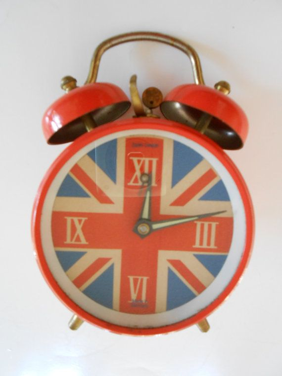 Dodo Designs Mod Union Jack Wind-up Alarm Clock With Bells ...