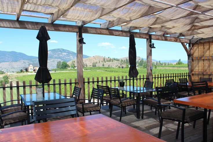 The Kitchen Restaurant deck at Misconduct Wine Co. at www.girouxdesigngroup.com