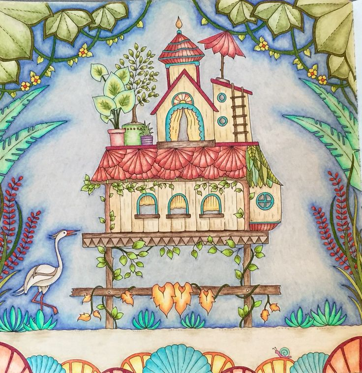 273 Best Johanna Basford Coloring Books Images On Pinterest
