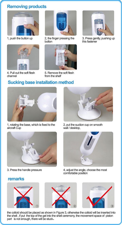 Fovel Hand Free Male Automatic Thrusting Masturbation Cup