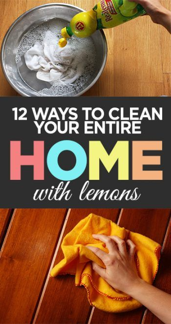 12 Ways to Clean Your Entire Home With Lemons - Organization Junkie
