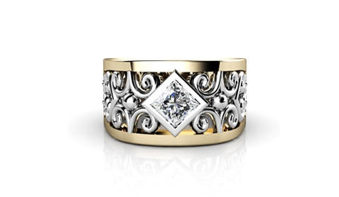 Gorgeous anniversary ring by T Jewelleres