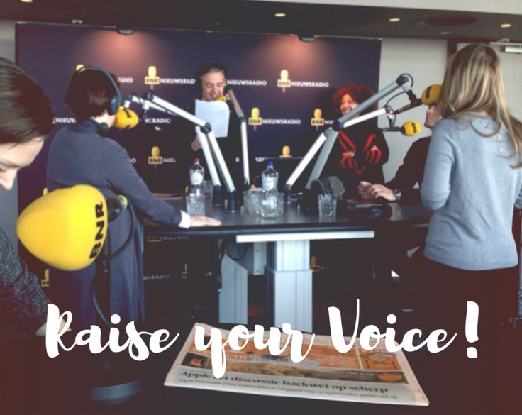 This morning I raised my voice on BNR radio. I felt the nerves in my body and my voice was shaky when I spoke. It was super scary and I still did it! Feel super proud that I took this step to share what I believe in! #PlayingBig #womenentrepreneur #authentic #zzp #femalepower #BeReal #speakup