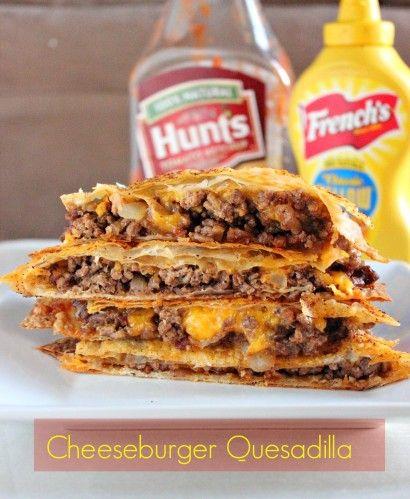 Cheeseburger Quesadilla | Tasty Kitchen: A Happy Recipe Community!