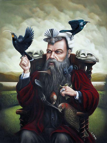 Liam Barr: Bullers-birds