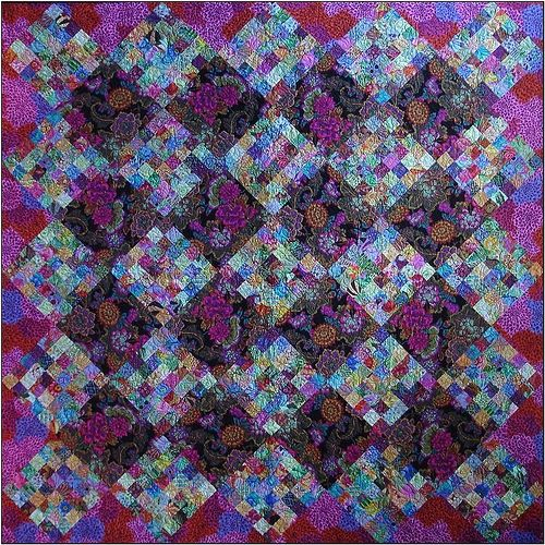 143 best Purple quilts images on Pinterest | Jellyroll quilts ... : colorful quilt patterns - Adamdwight.com