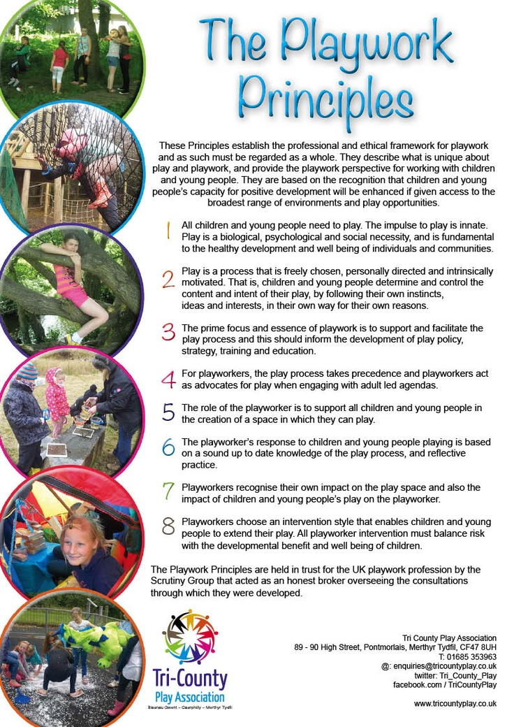 The Playwork Principles