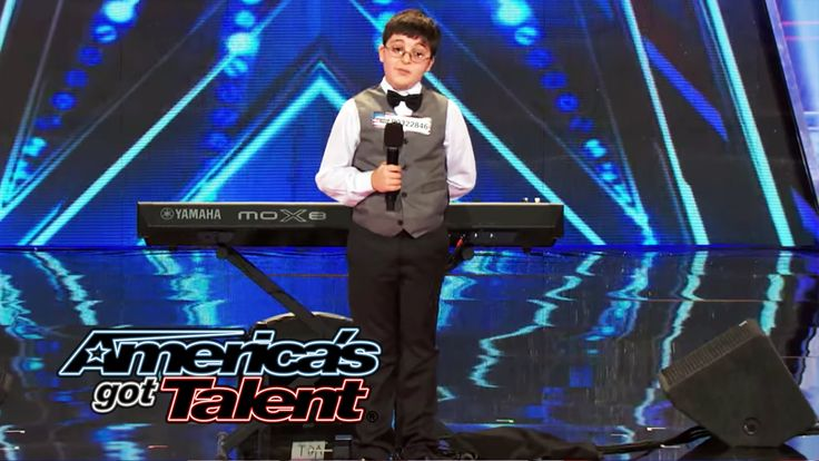 Adrian Romoff: 9-Year-Old Piano Player Wows Judges - America's Got Talen...