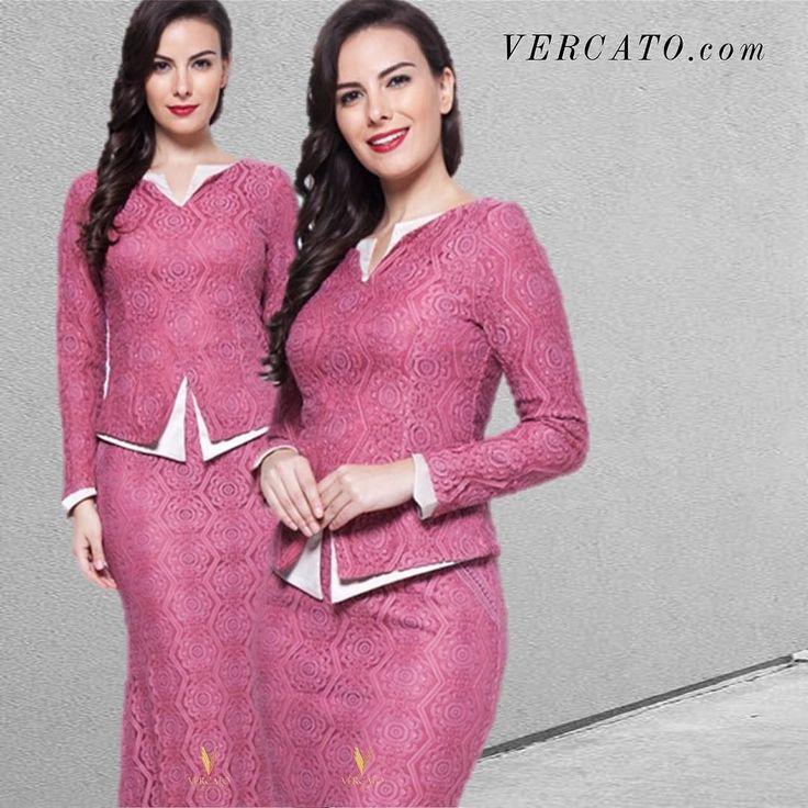 Dress shabbily and they remember the dress; dress impeccably and they remember the woman.  Coco Chanel .  Check out other colors in green and beige of this Baju Kebaya: VERCATO.com (Search: VERCATO Alice in Pink) | WhatsApp inquiries: 6011-26600313 | E-mail inquiries: info@vercato.com      #vercato #bajukurung2016 #kurungmoden #bajukurungmoden #bajukurung #bajukebaya #kebaya #kebayamodern #zaloraootd #zalora #zaloramy #zalorasg #lazada #11streetmy #fashionvalet #indonesia #malaysia…