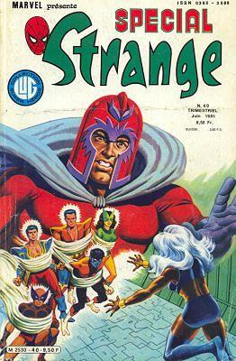 Couverture de Spécial Strange -40- Spécial Strange 1985