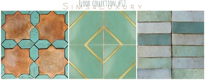 New floors, rugs and stickers at Sims4 Luxury via Sims 4 Updates