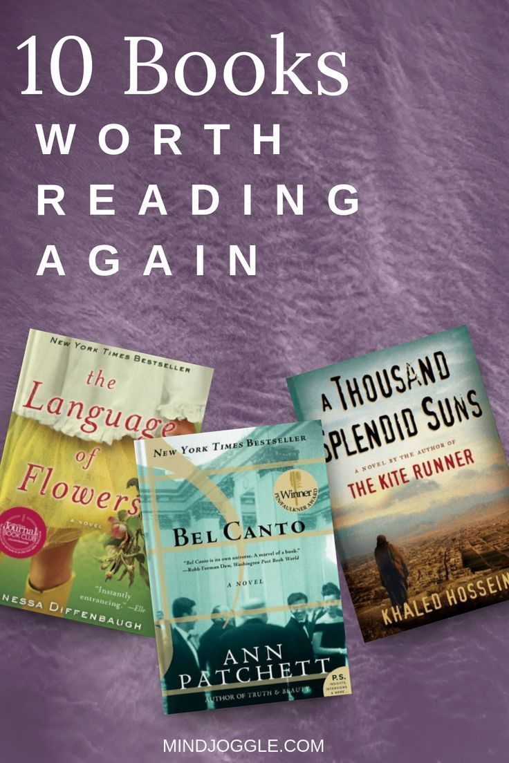 10 Books Worth Reading Again Or For The First Time Book Club