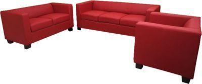 Heute Wohnen 3 2 1 Sofagarnitur Couchgarnitur Loungesofa Lille Leder Jetzt Bestellen Unter Moebelladendirektde Wohnzimmer Sofas Garnituren Uid