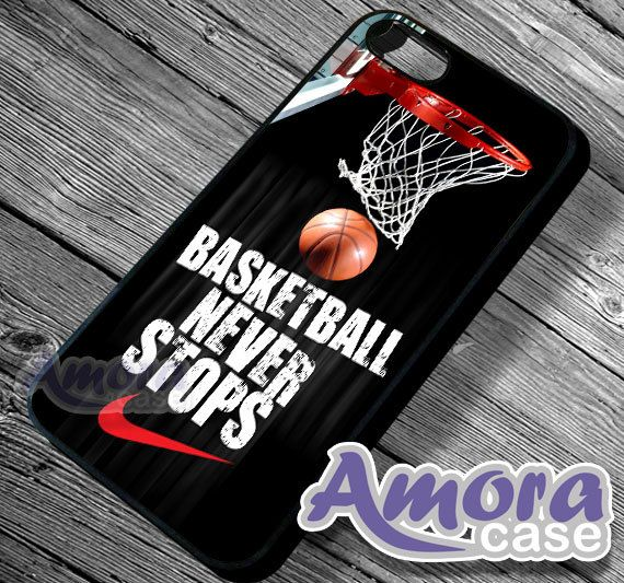 Nike Basketball Never stops  iPhone 4/4s/5 Case  by AmoraCase, $15.00