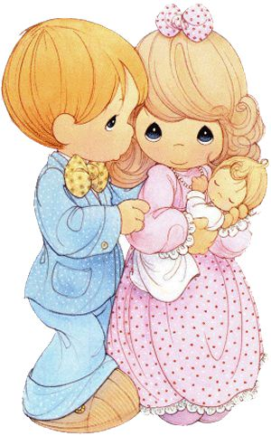 ~~pinned from site directly~~ . . .  Mom and Dad precious moments