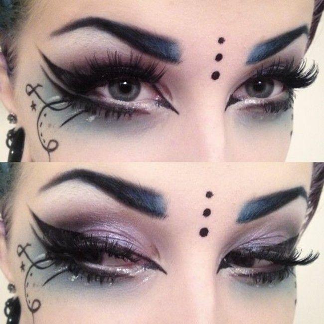 Make-up Ideen Karneval Make-up Karneval – Makeup Ideen
