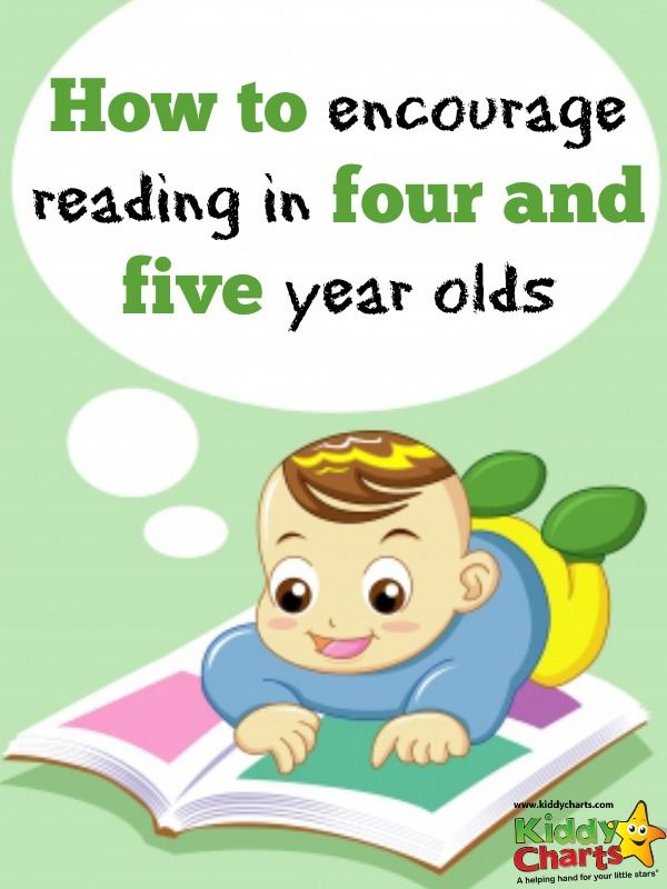 How to encourage reading and writing in your 4 and 5 year ...