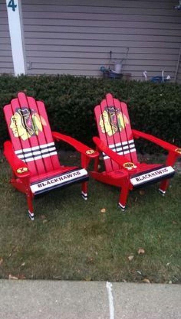 Chicagoblackhawks Chicago Blackhawks Design Chair