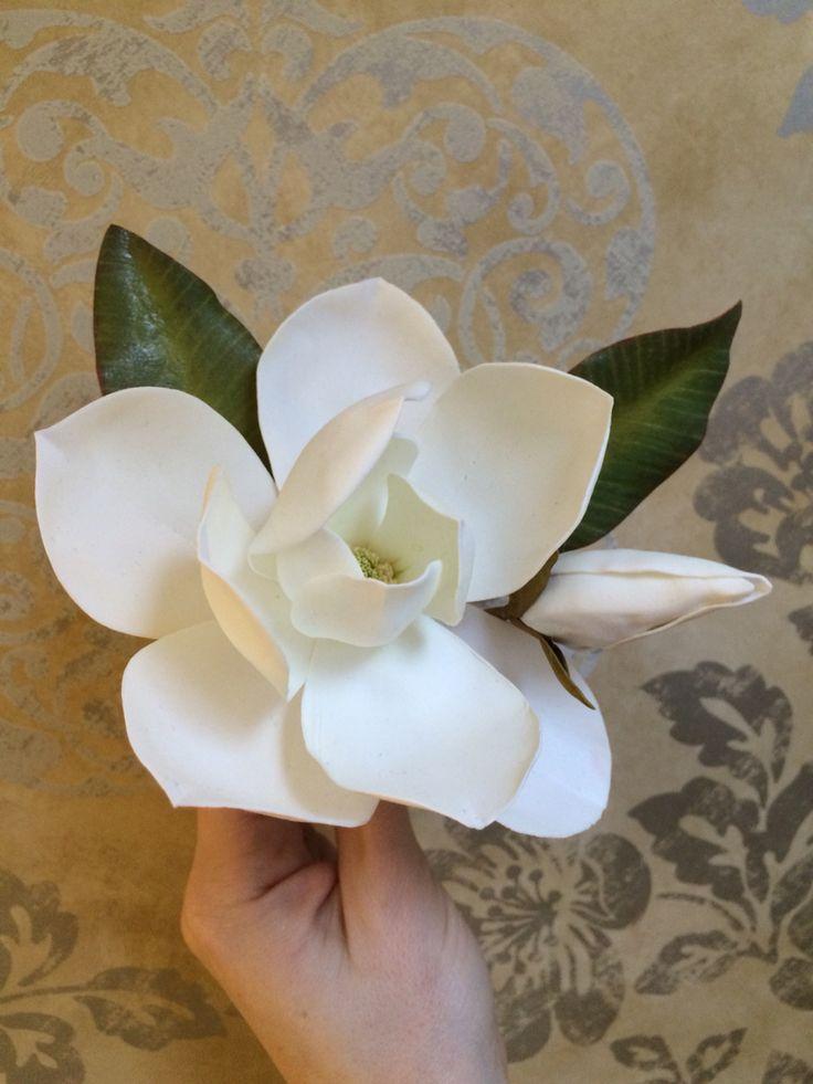 My handmade magnolia