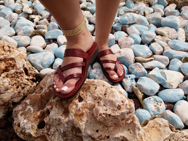 Leather Sandals, Leather Sandals Women, Sandals, Women's Shoes, DANA, Flip Flops, Biblical Sandals, Jesus Sandals, Sandals by Sandalimshop on Etsy