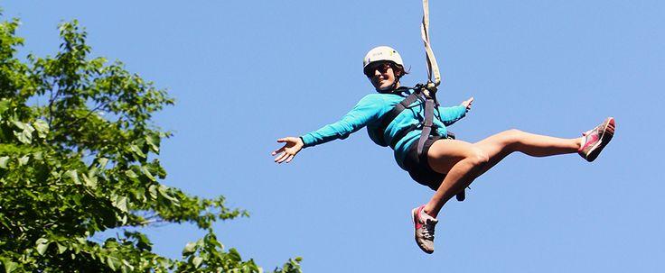 Zipline Adventure | Boyne Mountain Resort | Boyne Falls, Michigan