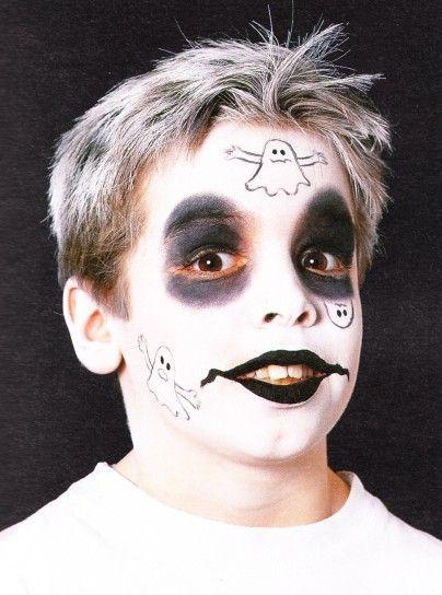 Trucco di Halloween per bambini