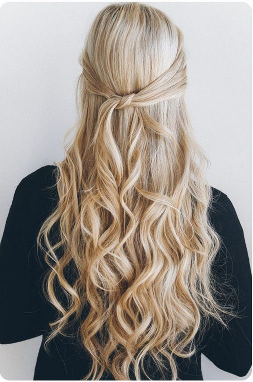 Knotted Half-Up - Easy Back to School Hairstyles to Let You Sleep In Later…