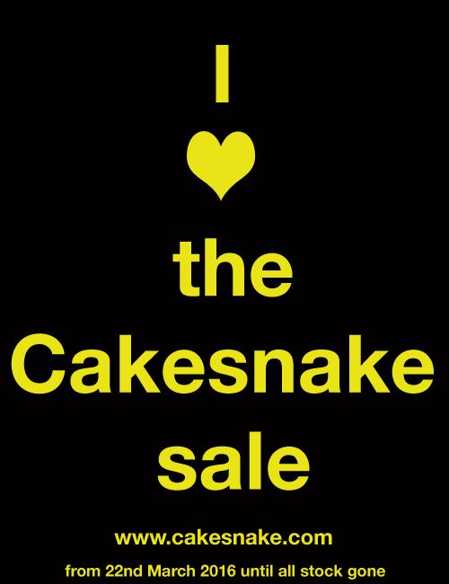 Cakesnake is coming to an end. This is the last time EVER to buy it (and other funky homewares.)