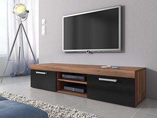 Tv lowboard holz  tv lowboard holz schwarz | Deutschland Produkte | Pinterest | TVs ...