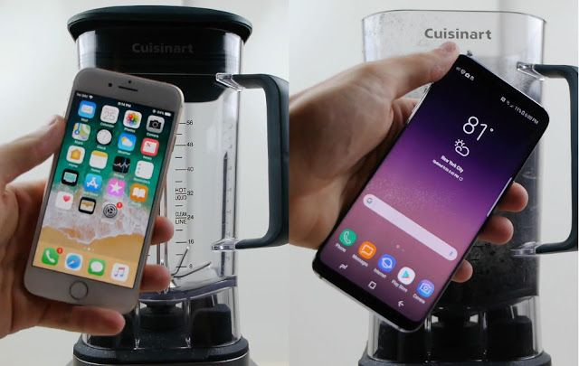 59 best android ios images on pinterest android apple and apples iphone galaxy face off in a blender fandeluxe Images