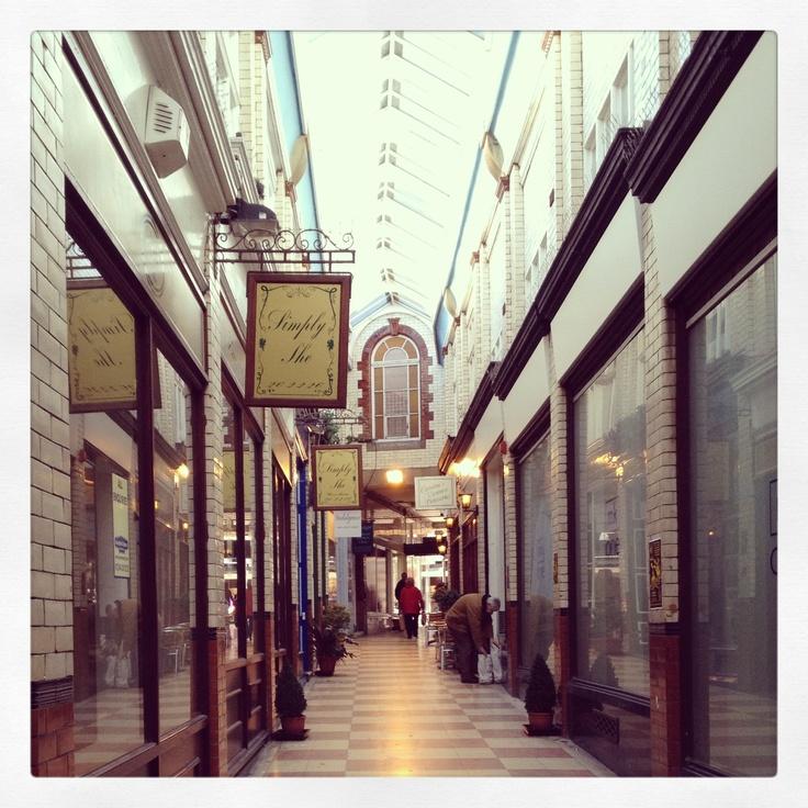Wrexham Shopping Arcade
