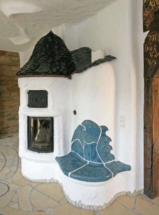 Kominek pokryty łupkami dachowymi, Fot. Rathscheck Schiefer