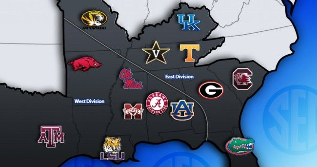 Heat Map: 2014 SEC football rosters - Saturday Down South