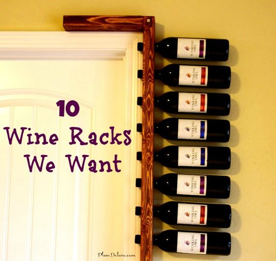 10 Creative Wine Racks